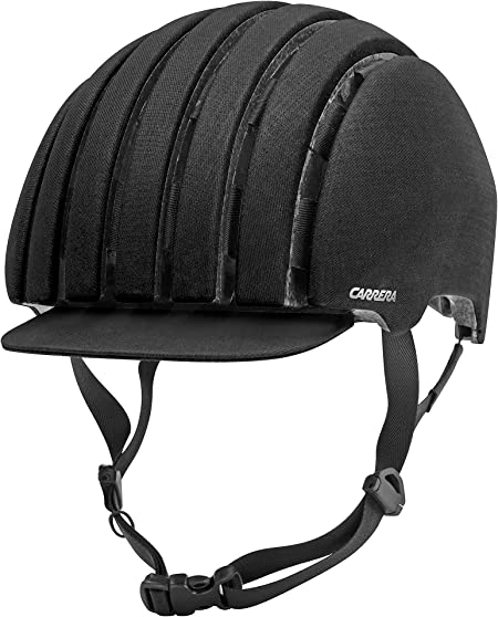 Carrera Crit WP Casco de Bicicleta, Color Black Waxed, tamaño XL ...