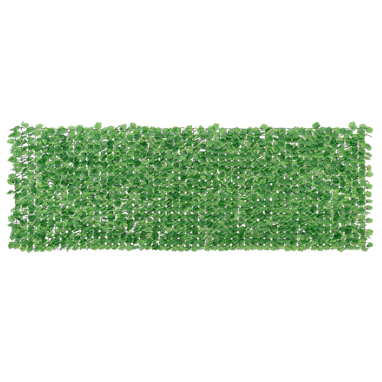 Amazon [neu haus] Blätterzaun 100 x 300 cm Sichtschutz