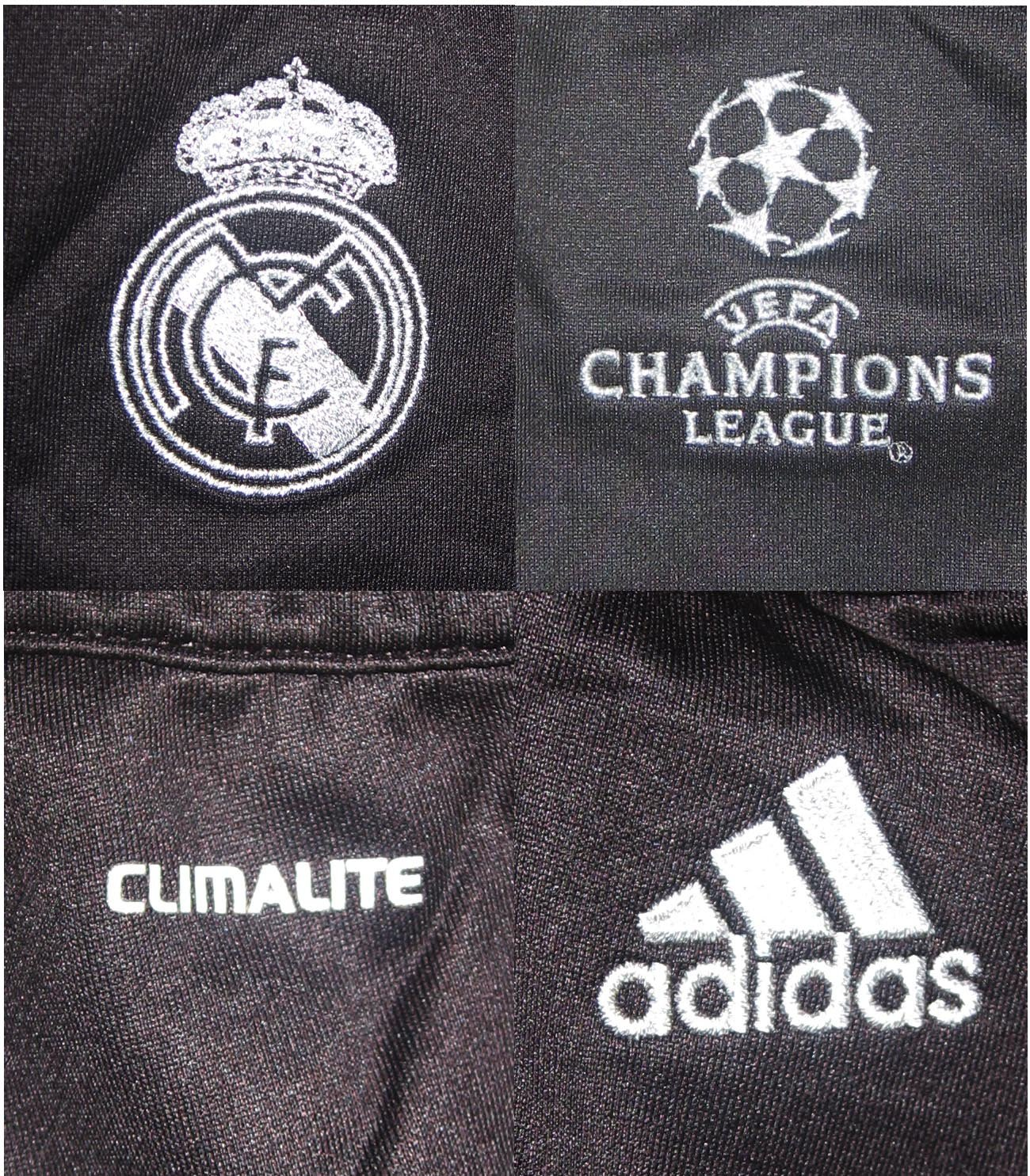 adidas Real Madrid Pantalón de chándal z10126, Negro, D7 | L ...