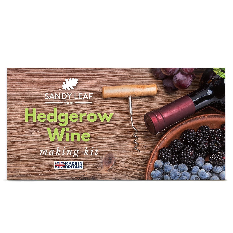 Hedgerow Wine Kit - Make Your Own Fruit Wine Sandy Leaf Farm