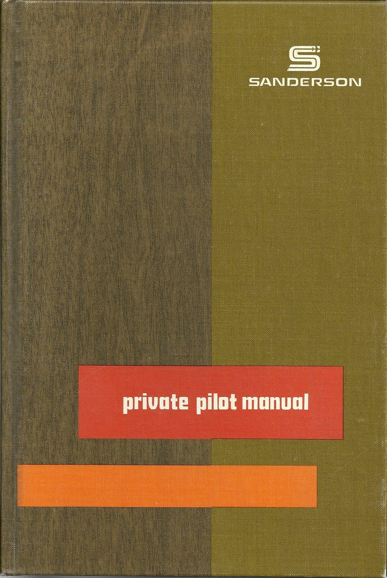 Private Pilot Manual: Jeppesen Sanderson: 9780884871064: Amazon.com: Books