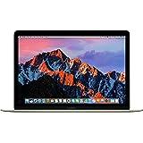 """Apple Macbook - Ordenador portátil de 12"""" (Intel M3, 8 GB RAM, 256 GB SSD, macOS Sierra), color Gold - Teclado QWERTY español"""