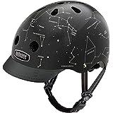 Nutcase - Patterned Street Bike Helmet for Adults, Constellations, Large