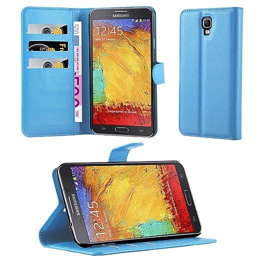 24 opinioni per Cadorabo- Custodia Book Style Design Portafoglio per Samsung Galaxy NOTE 3 NEO