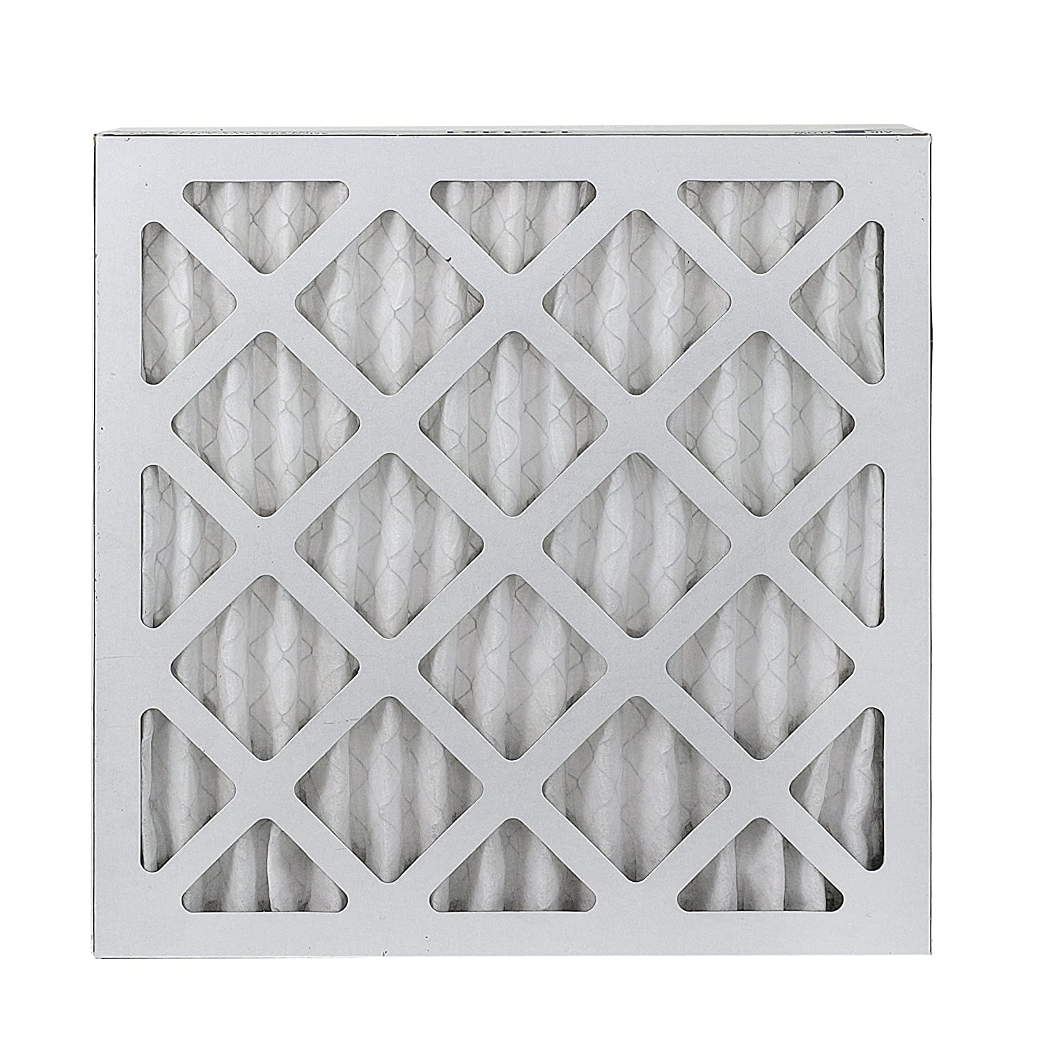FilterBuy 12x12x1 MERV 8 Pleated AC Furnace Air Filter, Silver Pack of 6 Filters 12x12x1