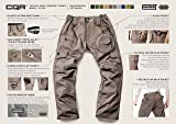 CQR Men's Tactical Pants Lightweight EDC Assault