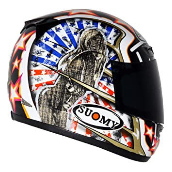 Suomy Apex Sam Casco para Moto Integral, Sam, M