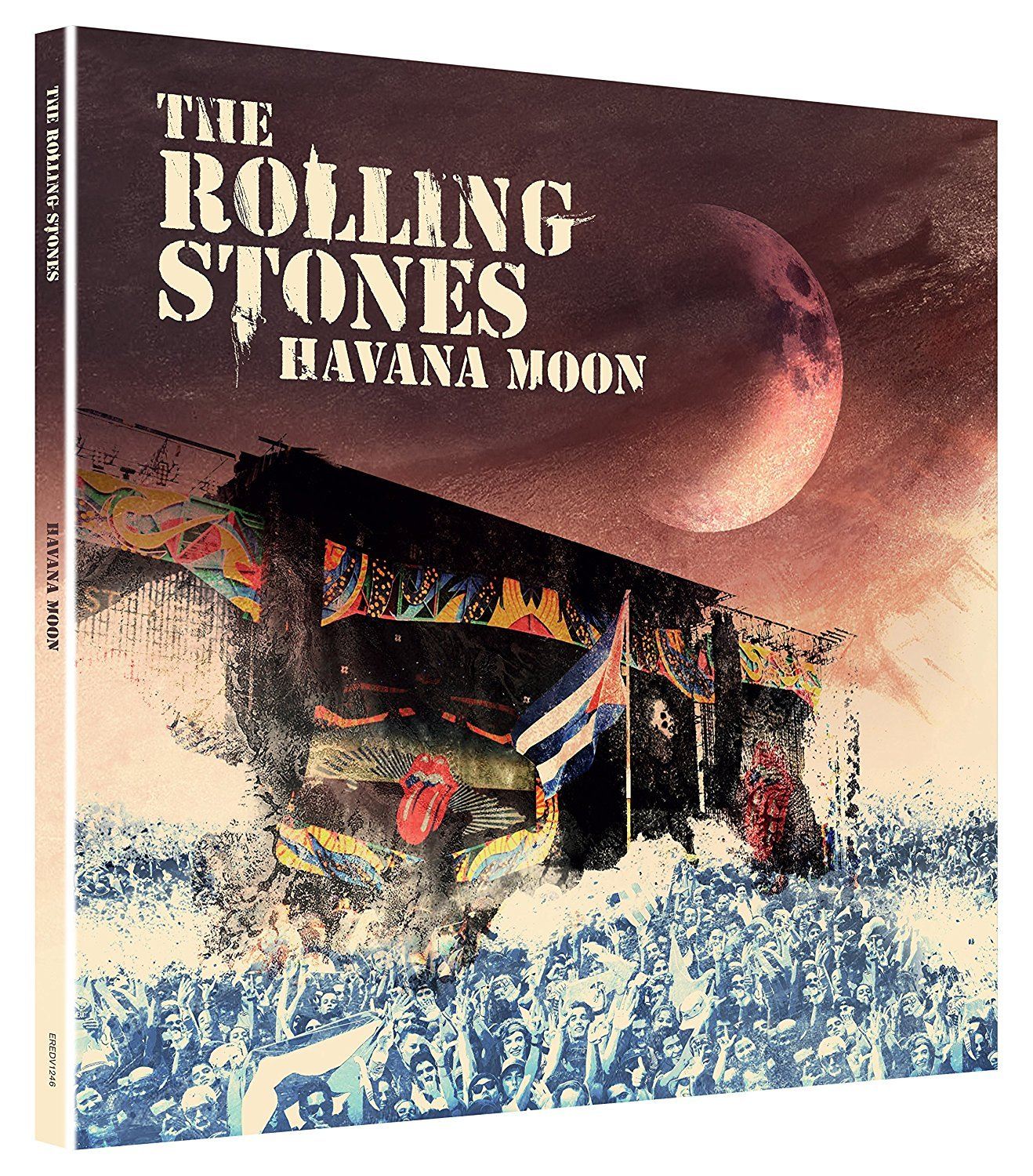Blu-ray : Rolling Stones - Havana Moon (With DVD, With CD, Deluxe Edition, United Kingdom - Import, 4PC)