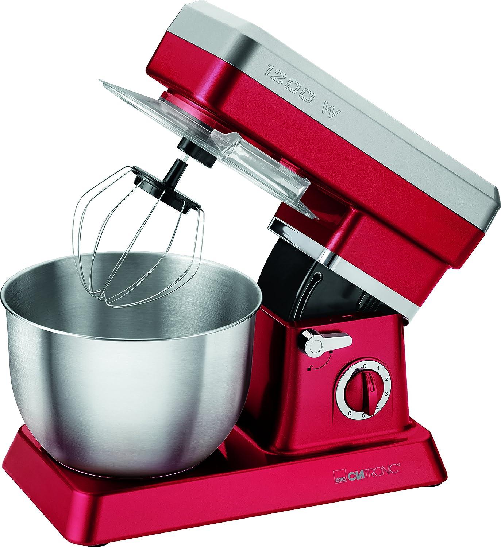 Clatronic KM 3630- Robot da cucina, rosso [Classe di efficienza energetica A] KM 3630 rot