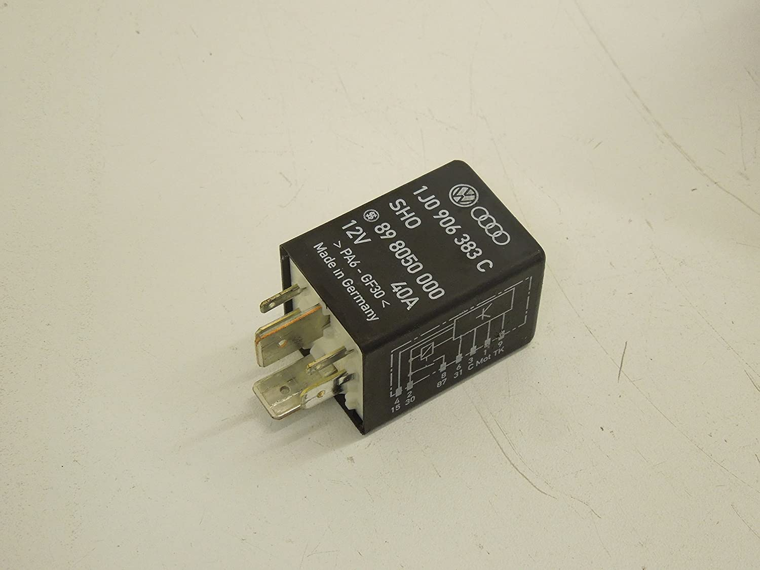 Audi TT 8N Fuel Pump Relay Number 409: Amazon co uk: Car & Motorbike
