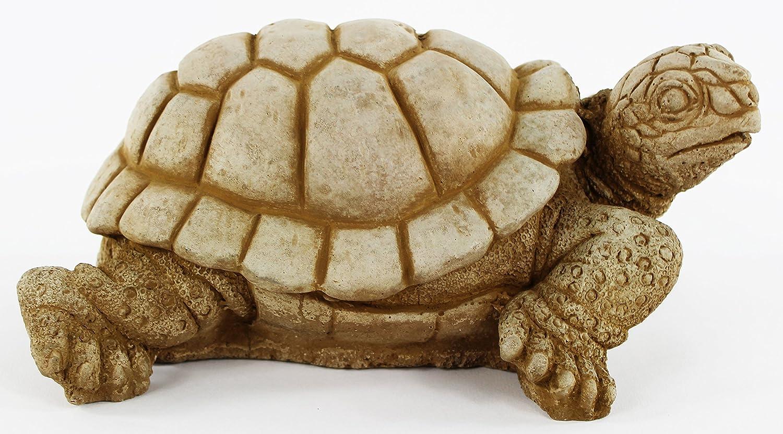 Amazon.com : Turtle Concrete Statue Tortoise Garden Sculpture ...