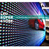 """LED SUPER STORE: Full Color/RGB/P26mm/PC - 36""""x118"""" PC Control, Outdoor Programmable Message Scrolling EMC Signs Display, Reader Board"""