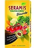 Seramis Tomaten/Gemüse Bioerde 17,5 L Torffreie Erde, gelb, 26,0 x 7,0 x 56,0 cm, 730666