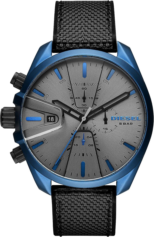 Diesel Reloj Cronógrafo para Hombre de Cuarzo con Correa en Piel