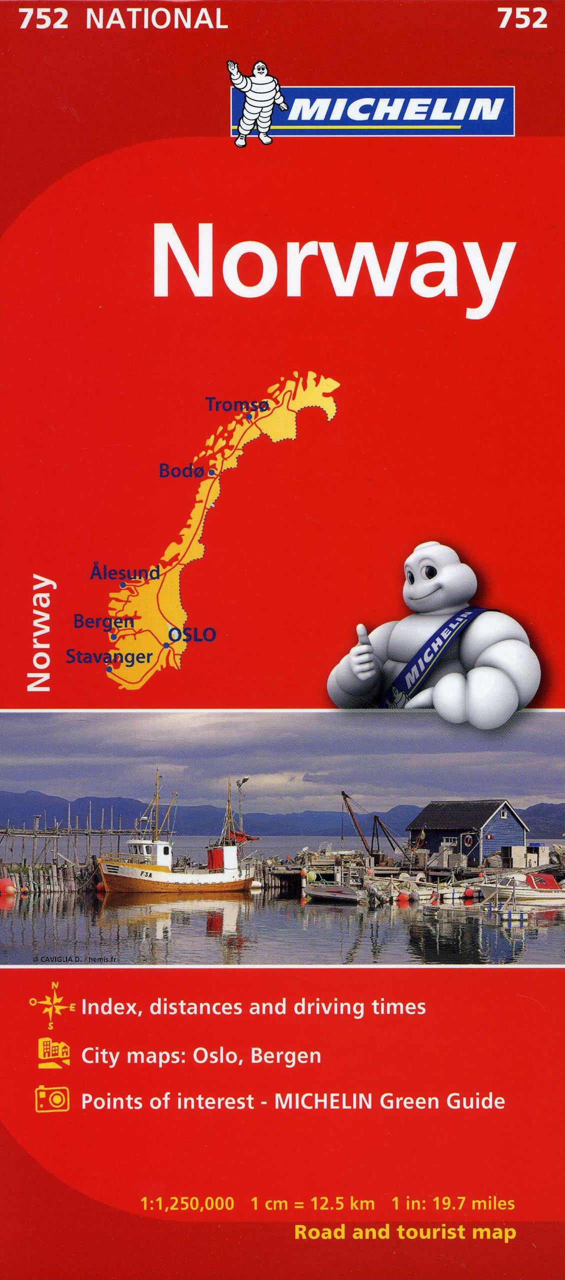 Michelin Norway Map MapsCountry Michelin Michelin - Norway map amazon