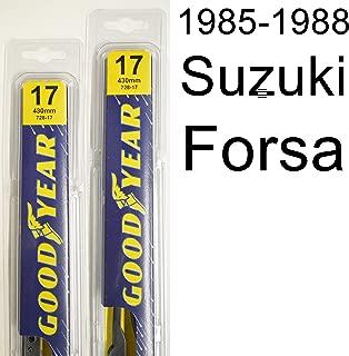 "product image for Suzuki Forsa (1985-1988) Wiper Blade Kit - Set Includes 17"" (Driver Side), 17"" (Passenger Side) (2 Blades Total)"