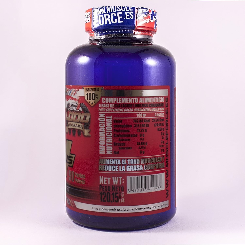 Muscle Force CLA 1000 Plus - 90 Unidades: Amazon.es: Salud y ...