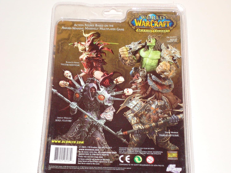 Blade - Figura, World Of Warcraft Dwarf Warrior (Thargas ...