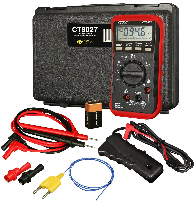 Amazon com innova 3320 auto ranging digital multimeter automotive - Amazon Com Gtc Ct8027 Professional Automotive Digital Multimeter Automotive