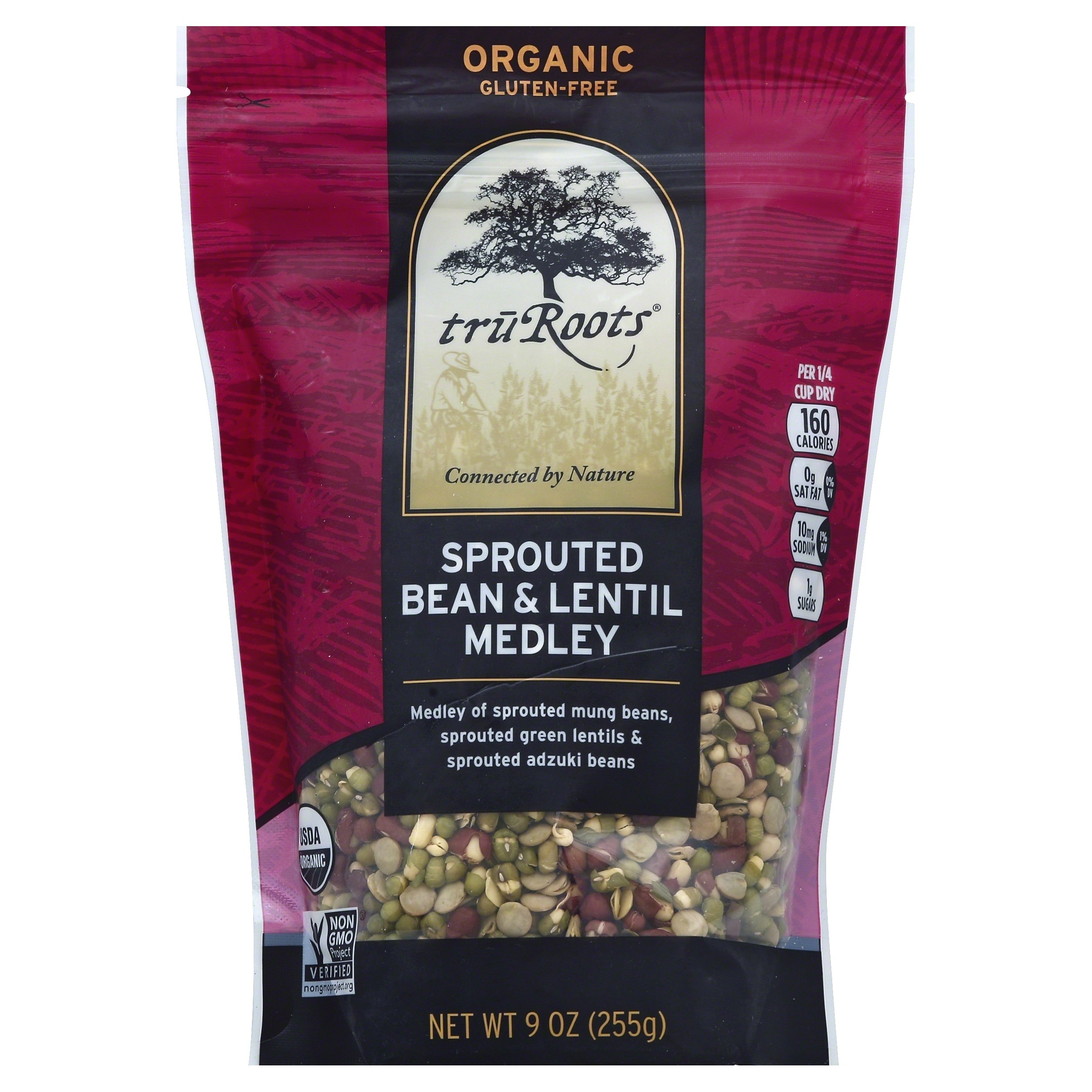 truRoots Sprouted Bean & Lentil Medley, 9 Ounce