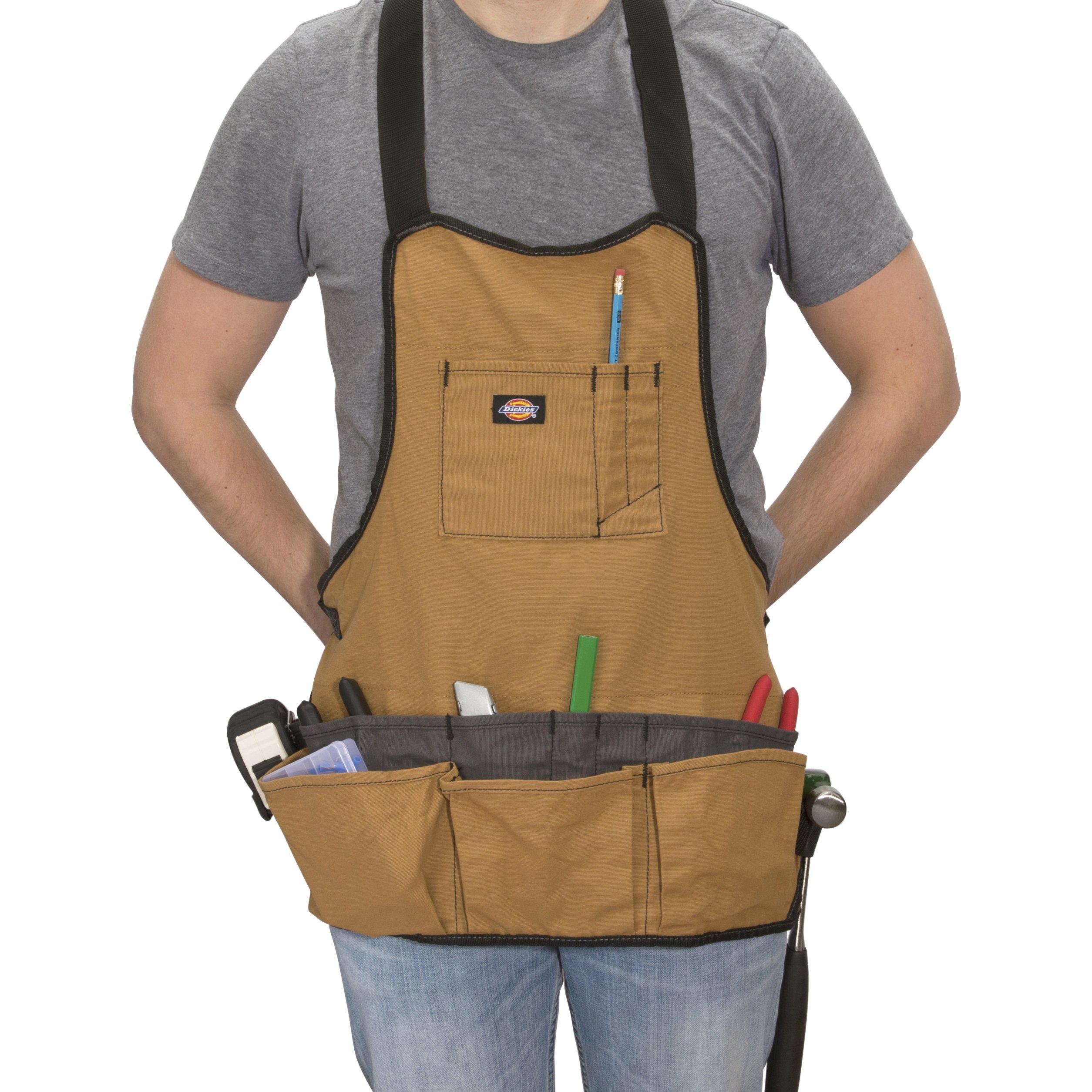 Dickies Work Gear 57027 Grey/Tan 16-Pocket Bib Apron by Dickies Work Gear (Image #4)