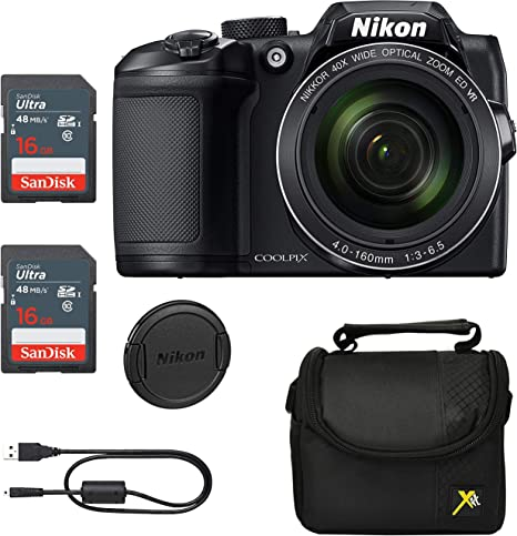 Executive Prices, Classic Bundle for Nikon B500 Coolpix Camera ...
