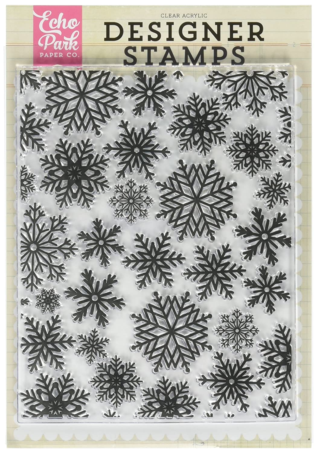 Echo Park Paper Company EPSTAMP129 Winter Snow A2 Stamp Set