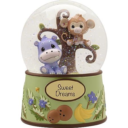 Precious Moments Precious Paws Sweet Dreams Snow Globe Resin 163105