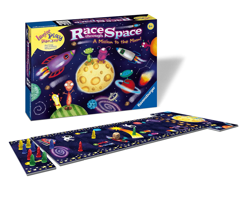 Race Through Space Children's Game
