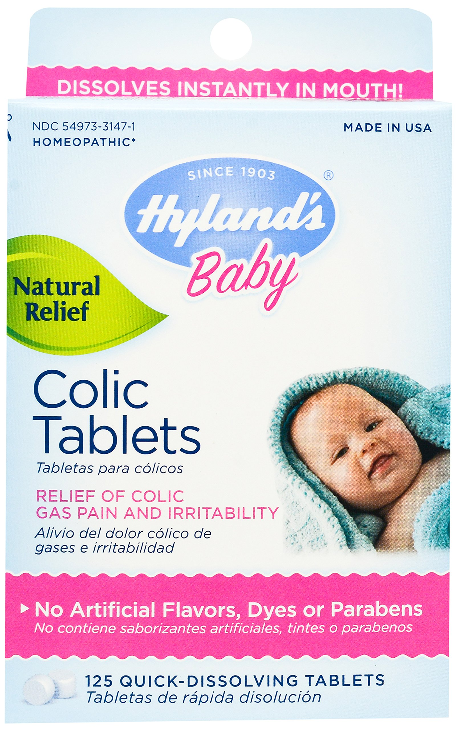 Amazon Com Hyland S Baby Calming Tablets Natural Relief