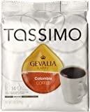 Gevalia Colombia Blend Coffee, Medium Roast, T-Discs for Tassimo Brewing Systems, 14 Count