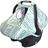 Bristin Baby Car Seat Cover/Stroller Cover. Stretchy Kick-Proof Car Seat Covers for Babies. Teal Gender Neutral Baby Carseat