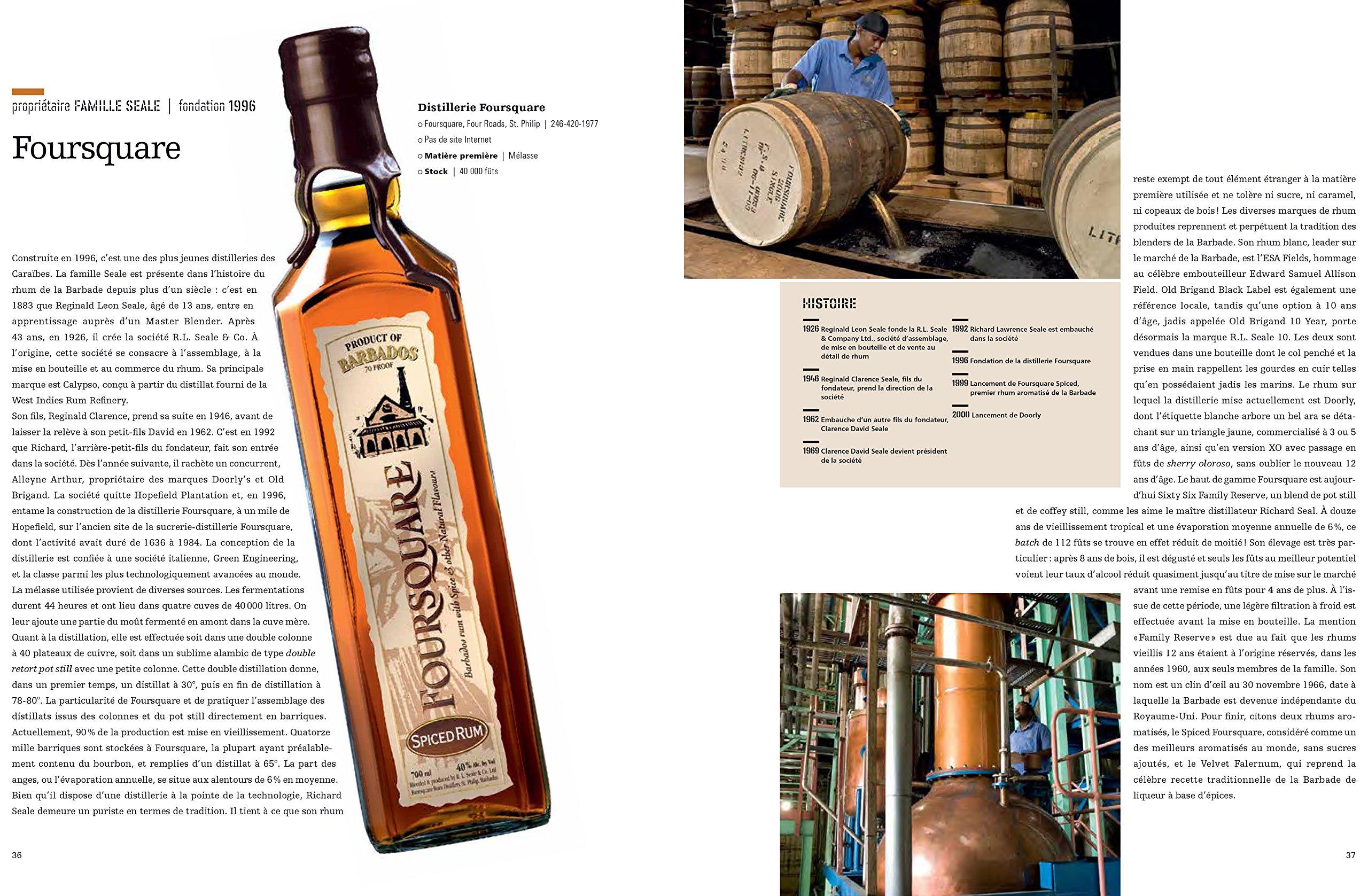 Atlas du rhum - distilleries des Caraïbes et degustation ...