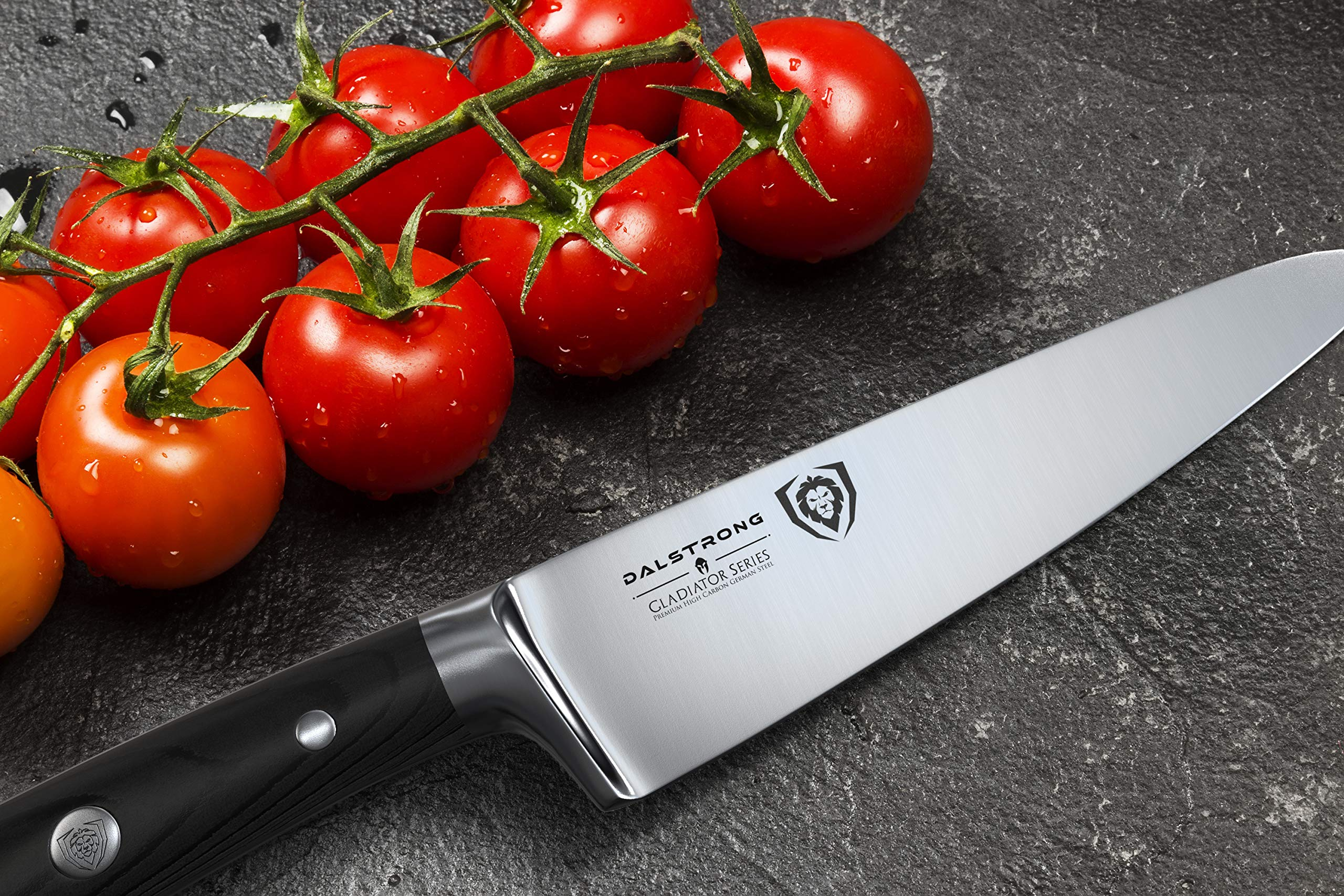 Dalstrong Chef's Knife - Gladiator Series - German HC Steel - 7'' w/Sheath by Dalstrong (Image #6)