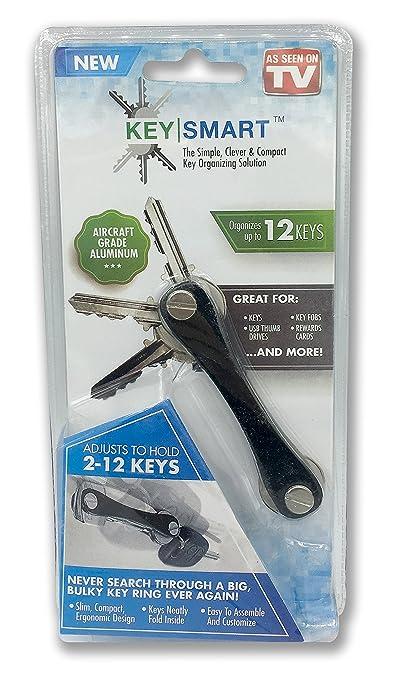 Keysmart, llavero contendor-organizador de llaves, hasta 12 ...