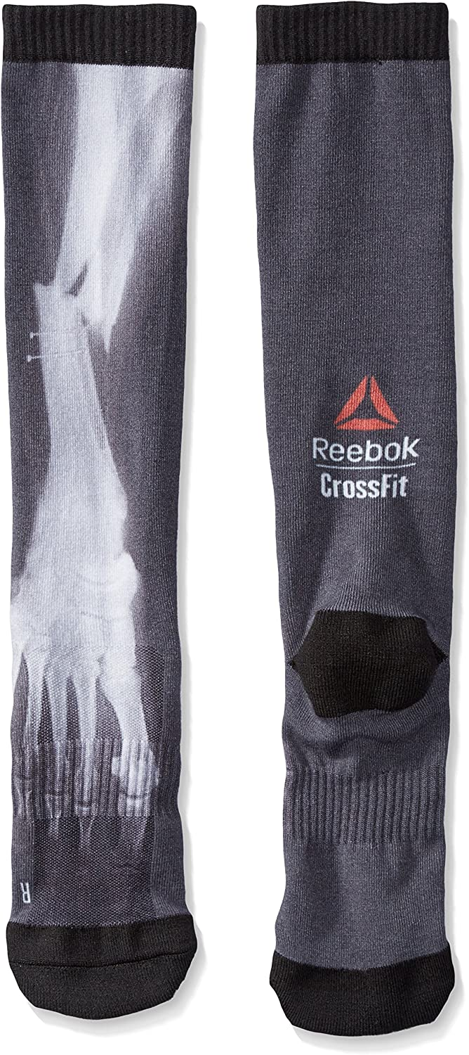 Womens Reebok Crossfit Compression Knee Socks Details about  / AY0279 Mens