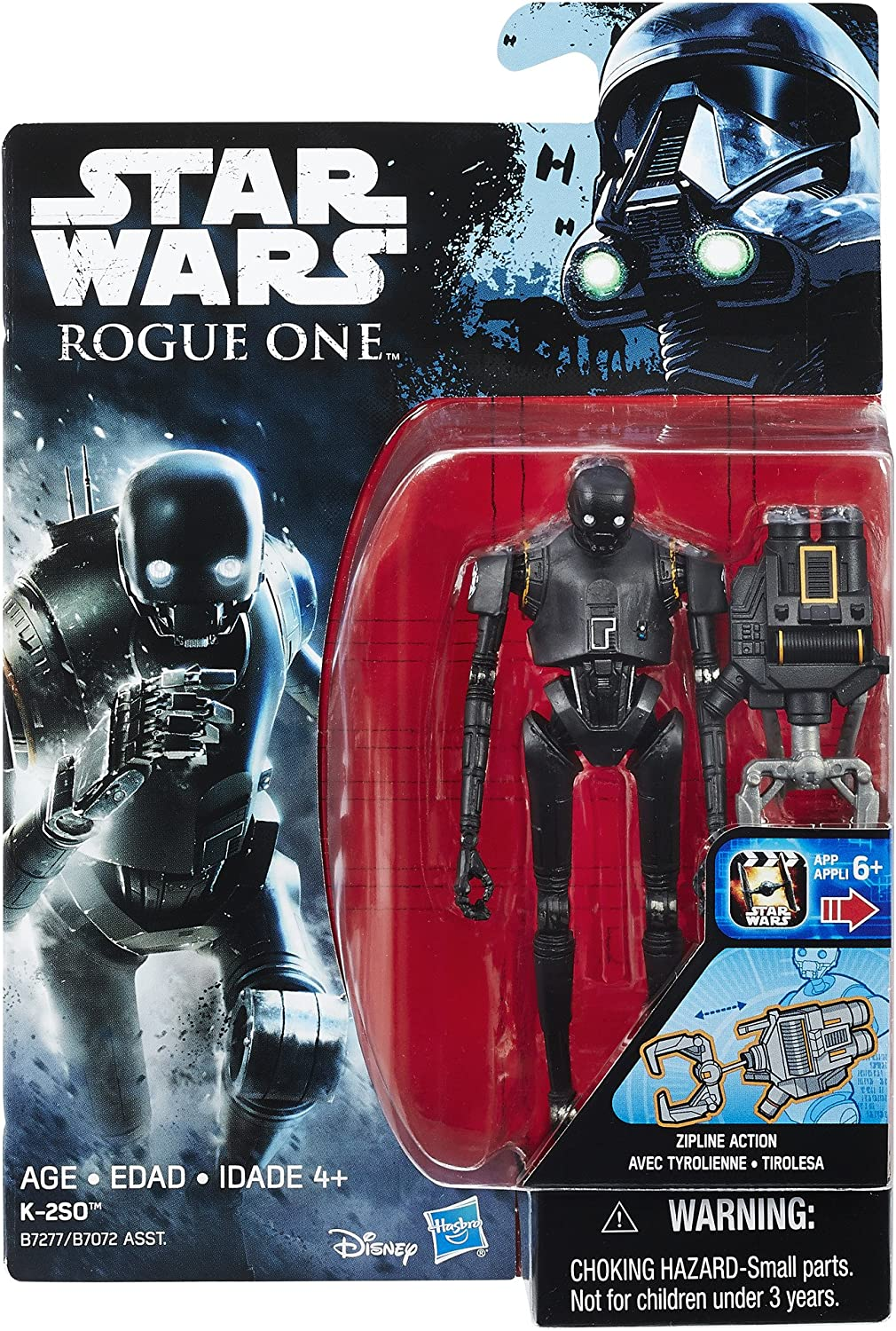 "Star Wars Force link 2.0 K-2SO droid LOOSE 3.75/"" inch series figure"