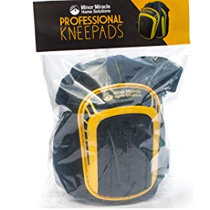 Premium Knee Pads For Work (1 Pair) Comfy Professional Kneepads That Stay In Place And Don't Slip Down. (Professional)