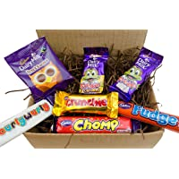 Premier Life Store Cadbury Funsize Treat Box - Buttons, Freddo Bars, Curly Wurly, Chomp, Fudge & Crunchie