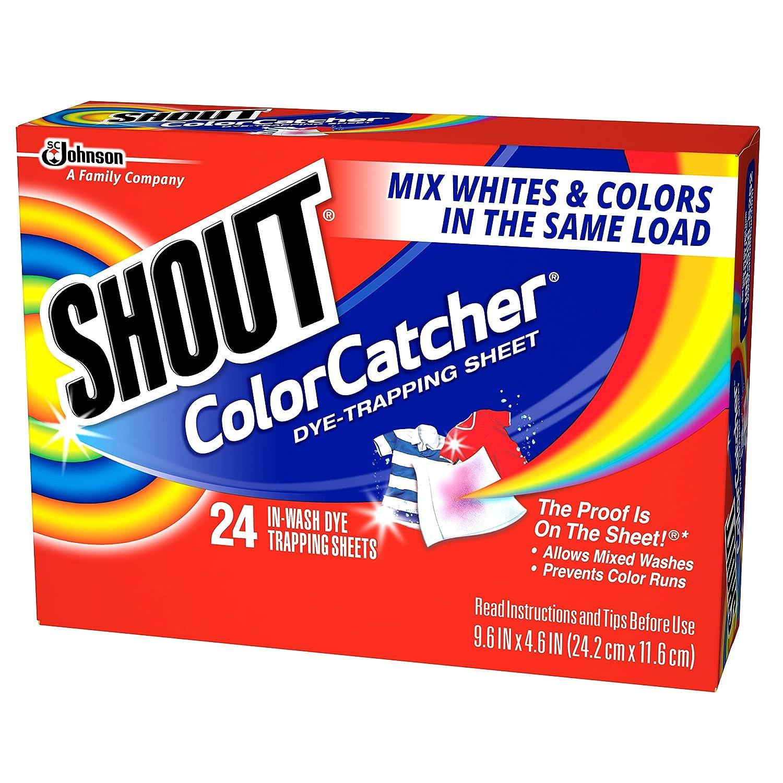 Colour catcher sheets - Amazon Com Shout Color Catcher 24 Count Pack Of 12 Health Personal Care
