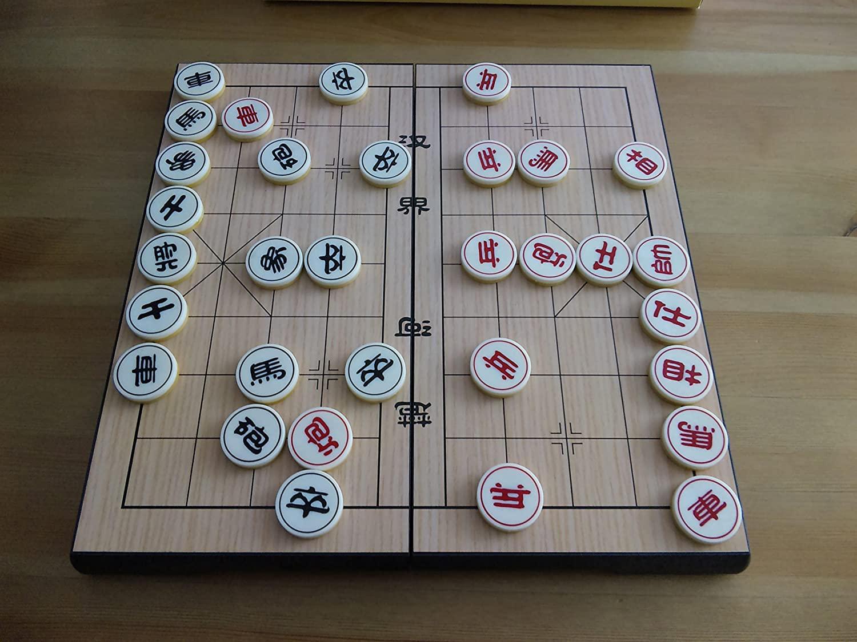 "Chinese Chess 12/"" magnetic foldable board Xiangqi"