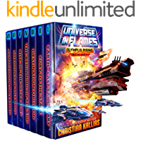 Universe in Flames - Olympus Rising (7 Books + 2 Extras) Box Set: An Epic Space Opera Adventure