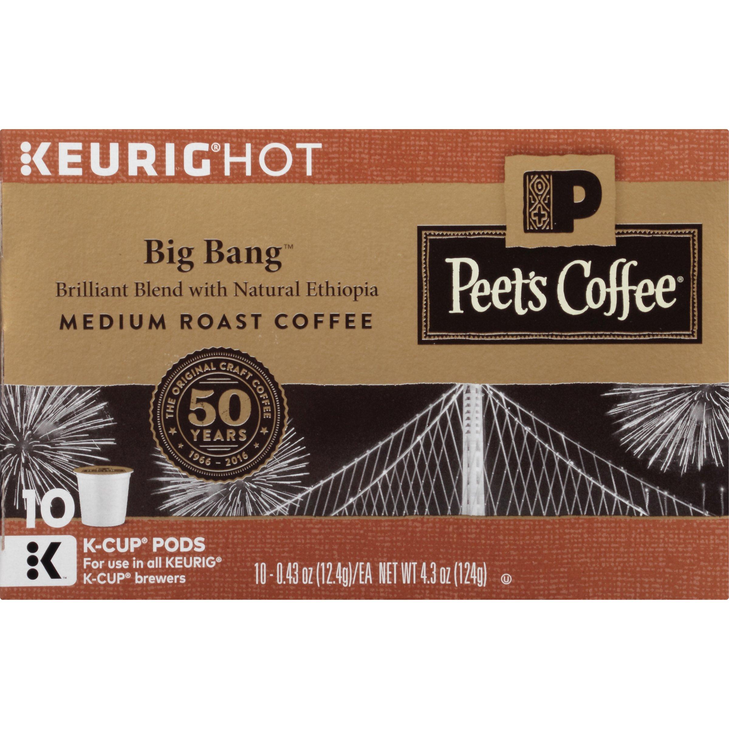 Peet's Coffee K-Cup Packs, Big Bang Medium Roast, 60 Count by Peet's Coffee