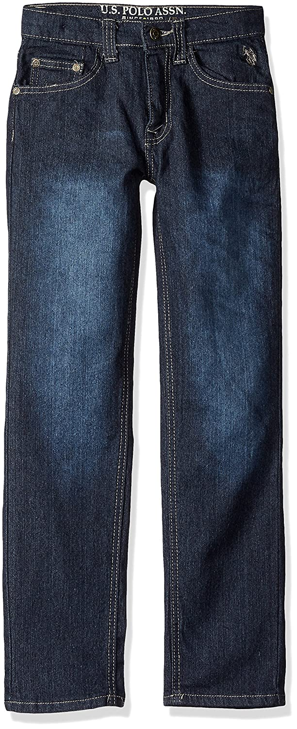 U.S. Polo Assn. Boys' Straight Leg Jean