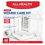 All Health Wound Care Kit, 40 Items   For Small to Medium Sized Wounds