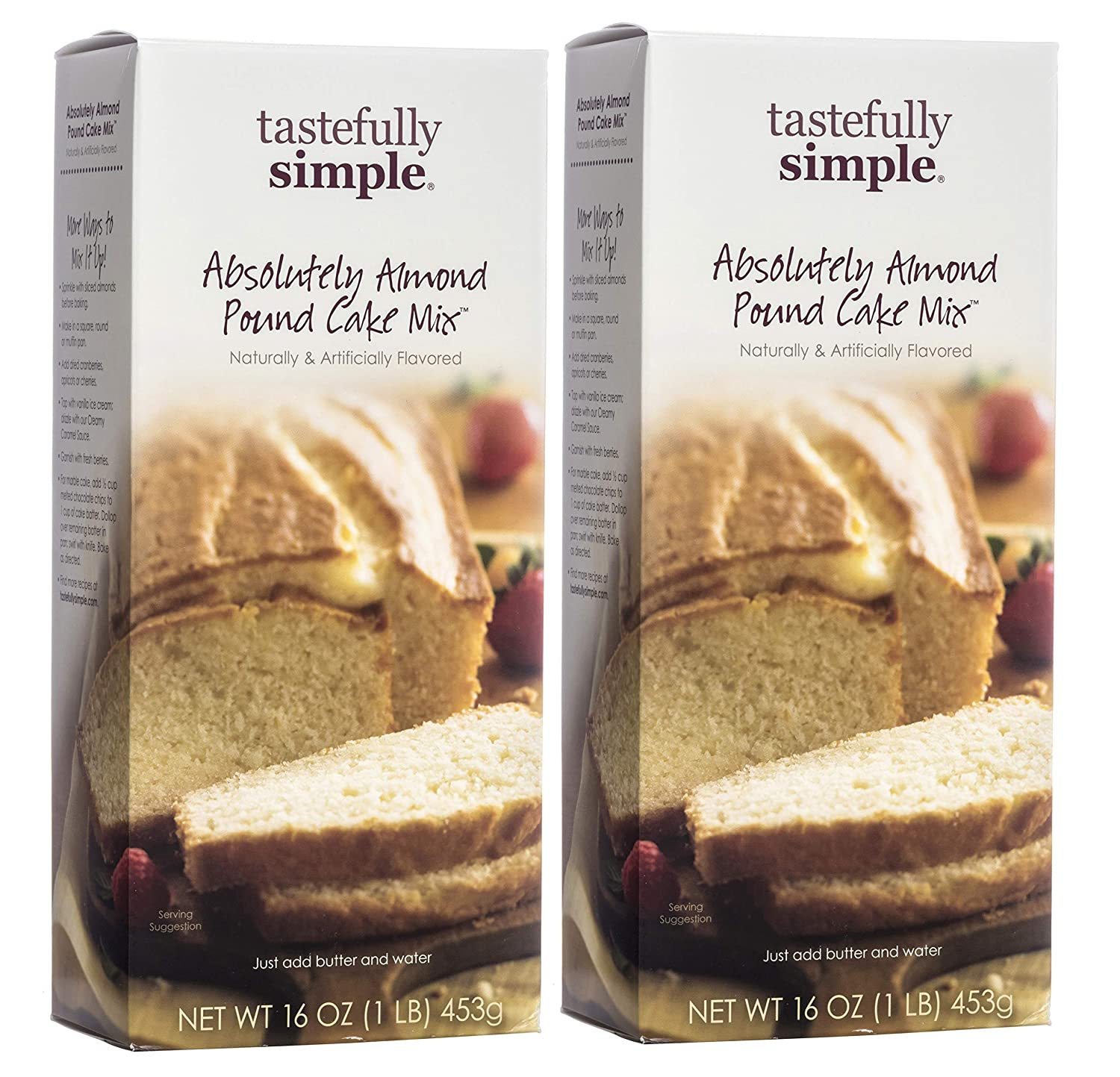 tastefully simple Absolutamente Almendra Libra Pastel Mix ...