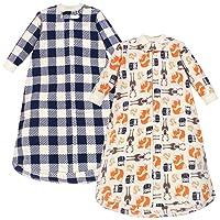 Unisex Baby Long-Sleeve Fleece Sleeping Bag