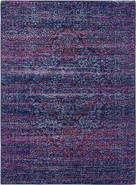 amazon com surya traditional rectangle area rug 2 x3 in purple