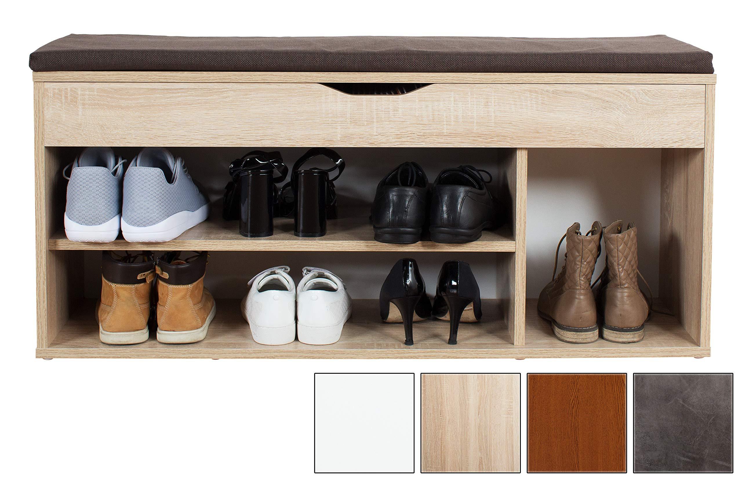Innenarchitektur Flurmöbel Ideen Von Ricoo Sitzbank Mit Schuhregal Sitzfläche Aufklsuperbbar Schuhschrank