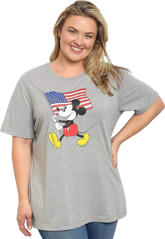 Disney Plus Size Women's T-Shirt - Choose Print: Mickey Minnie Mouse